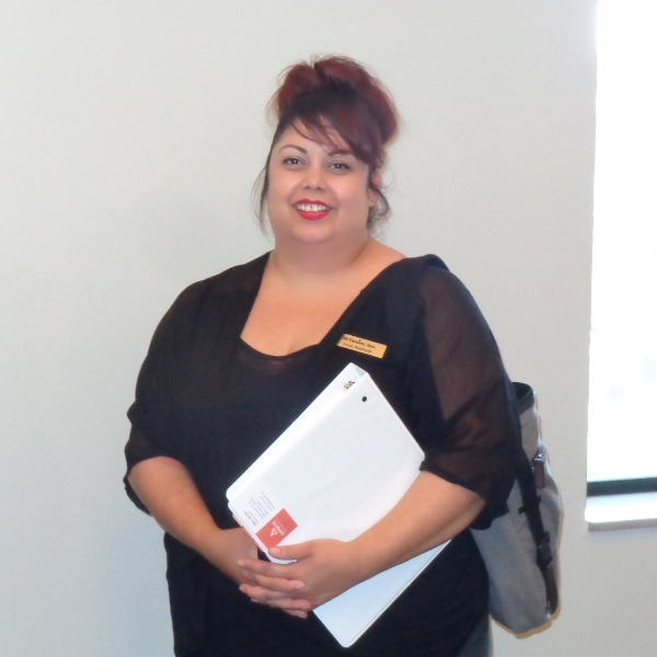 <strong>El Centro, Inc.</strong><br /> <em>Health Navigation Program Manager</em></p> <p>Ms. Andrade has worked at El Centro for the last 13 years, a nonprofit agency dedicated to serving the Latino community. As a Health Navigator, it's her role to help individuals maneuver through the barriers of the health care system. Her life's work is advocating for the clients she sees and speaking to the needs they have in accessing health care services in hope that someday we will be able to eliminate health disparities in Wyandotte County.